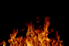 Fire flames abstract Stock Image