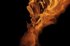 Fire and flames - abstract shape II Royalty Free Stock Image