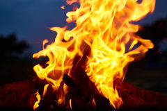 Fire flames background Royalty Free Stock Images
