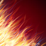 Fire flames background. EPS 10 Stock Photos