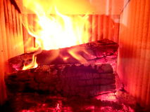 Fire flames background, Royalty Free Stock Photos