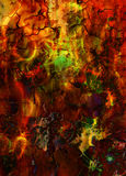 Fire flames background, LAVA structure. Computer collage. Earth Concept. Fire flames background, LAVA structure. Computer collage. Earth Concept Royalty Free Stock Photo
