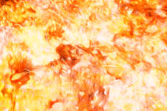Fire flames background, LAVA structure. Computer collage. Earth Concept. Stock Photos