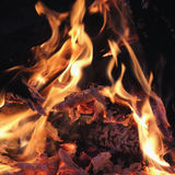 Fire and flames Royalty Free Stock Photography