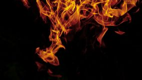 On fire abstract stock illustration