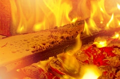 Fire flames, blaze fire flame texture background. Stock Photo