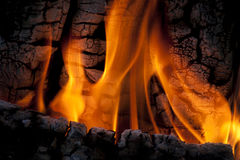 Fire flames. Royalty Free Stock Photo