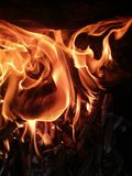 Fire and Flames Royalty Free Stock Photos