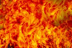 Fire flames burning stock photo