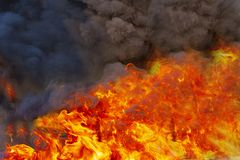 Fire flames burning royalty free stock photography