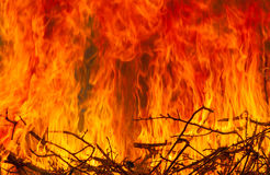 Fire and flames Stock Images