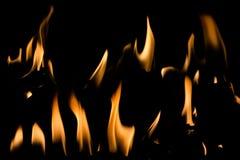 Fire flames Stock Photos