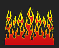 Fire flames  element Royalty Free Stock Photo
