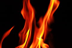 Fire Flames Pattern Stock Photo
