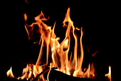 Fire flaming Stock Photo