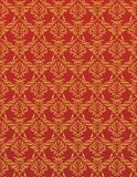 Fire Flower. Red Luxurious Wallpaper Royalty Free Stock Images