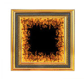 Fire in frame Royalty Free Stock Photo