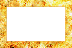 Fire frame Royalty Free Stock Photos