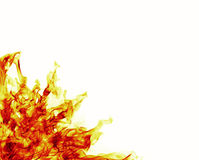 Fire frame flames Royalty Free Stock Photos
