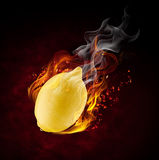 Fire fruit Royalty Free Stock Images