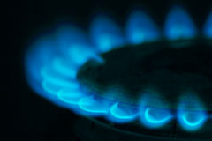 Fire gas Royalty Free Stock Photography