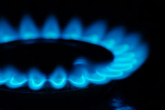 Fire gas Stock Photography