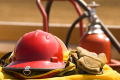 Fire gear Stock Images