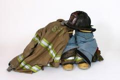 Fire Gear. Fireman's gear stock photography