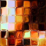 Fire glass tiles Stock Photography