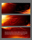 Fire glow background Royalty Free Stock Photo