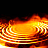 Fire graphic Stock Photography