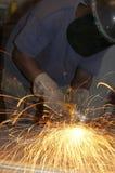 Fire grind Stock Photos