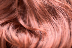 Fire hair Stock Image