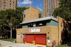 Fire Hall in Harlem, NYC Stock Images