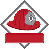 Fire Hat Royalty Free Stock Photography