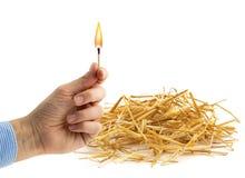 Fire hazard Royalty Free Stock Image