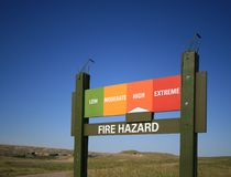 Fire Hazard High royalty free stock photography