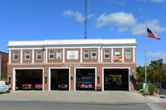 Fire Headquarters, Salem, Massachusetts Royalty Free Stock Photo