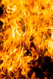 Fire and heat Stock Photo