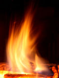Fire and heat flame Royalty Free Stock Photos