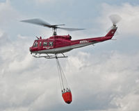 Fire Helicopter Royalty Free Stock Photography