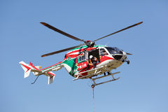 Fire helicopter Royalty Free Stock Images