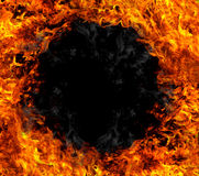 Fire hole Royalty Free Stock Images