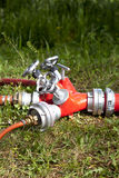 Fire hose Royalty Free Stock Photos