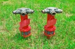 Fire hose. Royalty Free Stock Photos