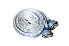 Fire-hose Royalty Free Stock Photos