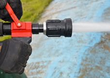 Fire hose Stock Photos