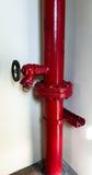Fire hose emergency fireman Royalty Free Stock Photos