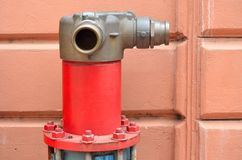 Fire Hose Fittings Stock Images