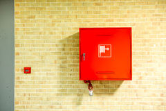 The fire hose Stock Photography